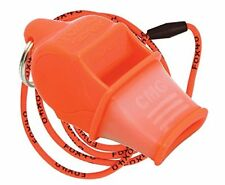 Fox 40 Sonik Blast CMG Whistle Lanyard Referee Coach Outdoor Dog Safety Orange