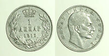 pcc1250_3)  SERBIA 1 DINARO 1912 ARGENTO Silver Coins
