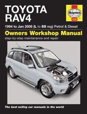 Manuali di assistenza e riparazione RAV4 per l'auto per Toyota
