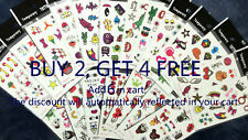 Kids' Waterproof Fashion Art Fake Body Temporary Tattoo Stickers Removable US