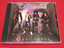 CINDERELLA - NIGHT SONGS - NEW CD
