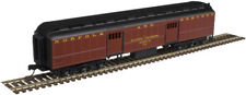 Atlas N Scale ACF Heavyweight 60' Baggage Car Norfolk and Western/NW #118