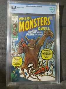 Where Monsters Dwell 6 (11/70) Groot! CBCS 8.5