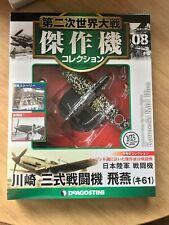 Diecast Collection Aircraft 1/72 Kawasaki Ki 61 Hein