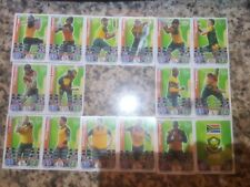 TOPPS CRICKET ATTAX ICC 2015 CRICKET WORLD CUP South Africa Team Set