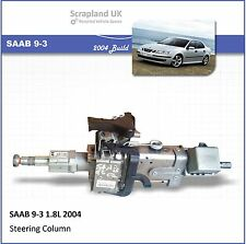 - SAAB 9-3 1.8L 2004 Electric Power Steering Column PP019460001 - WITHOUT WHEEL