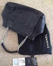 Authentic Chanel Black XL Large Tote Bag/card/dustbag/excellent Condition
