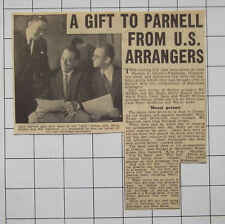 US Music Arrangers Give Big Band Scores To Jack Parnell 1955 News Clipping