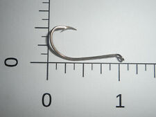 100 Mustad #2 Live Bait Beak Hooks Forged Reversed Nickelplated Ex Long 9561