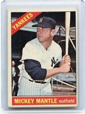 1966 TOPPS BASEBALL #50 MICKEY MANTLE, NEW YORK YANKEES, HOF, 092217