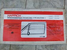 VW Golf/Jetta 2 MK2 II GLI GTI 16V G60 syncro 4-dr HAPPICH Window Wind Deflector