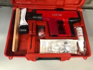 Tornado Fixing EXP88 Cartridge Tool Shot Fire Nail Gun NTO Hilti DX450