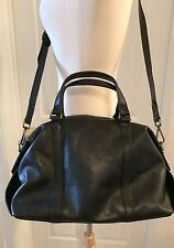 MADEWELL THE GLASGOW SATCHEL TRUE BLACK E1474