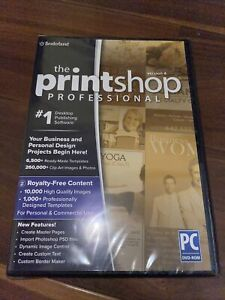 Print Shop Professional 4.0 PC NEW SEALED