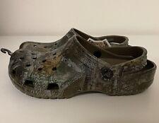 Crocs Classic Realtree Clog Mens Sz 8/ Women's Sz 10 Hunting Camo 205413-267 NEW