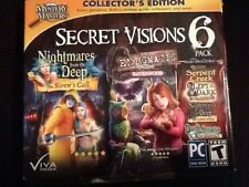 Secret Visions 6 Pack Hidden Object Mysteries for PC
