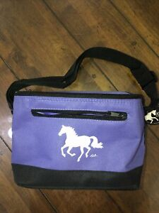 Purple And Black Horse 6 Pack lunch bag