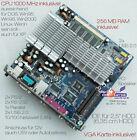 Mini Motherboard V90 6 11/16x6 11/16in + 1 GHZ CPU 256 MB USB 2.0 12V Operation
