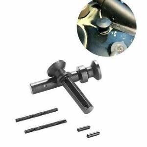 Black Extended Takedown(Take Down) Pivot Pin w/Detent & Spring 223/556 .308/7.62