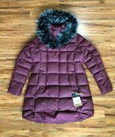 The North Face TNF Fur HD Down Parkina Jacket Red Women's Size Small and XL