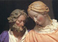 Alte Kunstpostkarte - Maria und Josef aus der Weihnachtskrippe in Lauterbach