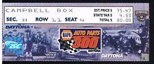 1998 NAPA Auto Parts 300 Daytona NASCAR Ticket Stub