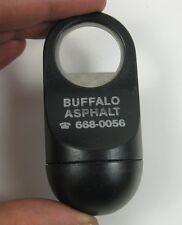 Vintage Wobble Bottle Opener West Germany Black ~ Buffalo Asphalt Advertising NY