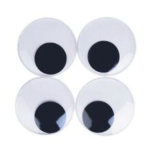 Giant Googly Eyes with Self Adhesive Diy Home Office Furniture Decorations 4 Pcs