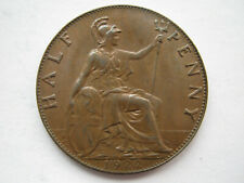 More details for 1922 bronze halfpenny a unc