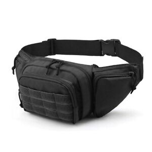 Ultimate Fanny Pack Holster Multi-functional Bag Durable Waist Packs for Outdoor