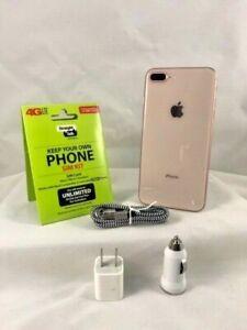 Apple iPhone 8 Plus - 256GB - Gold (Verizon/ Straight talk activation KIT)