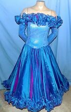 Vegas Couture Avant Garde Show Girl Drag/Stage/Costume Dress XS/XSP