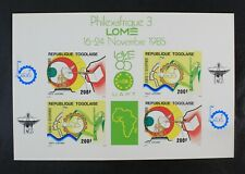 CKStamps: Togo Stamps Collection Scott#C540a Mint NH OG Imperf
