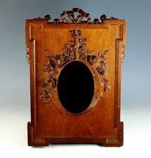 Antique Black Forest Hand Carved Photo Picture Frame