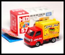 TOMICA #57 SUZUKI CARRY MOBILE CATERING TRUCK 1/55 TOMY 2014 Nov New Red