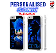 Personalised Sonic The Hedgehog Case for Apple iPod Touch 5th 6th 7th Generation