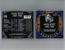 HAZEL SCOTT 1939-45 CLASSICS CD LONG OUT OF PRINT NEW SEALED