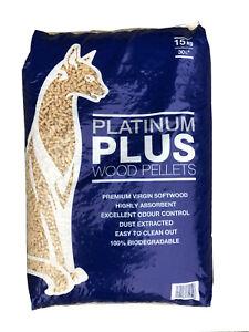 Platinum Plus Ultra Absorbent Wood Pellets 30 litre/15kg