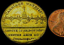 b6: A++ 1831 London Bridge Medal : dismantled & reassembled in the US in 1971