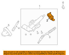 FORD OEM 08-11 Focus Steering Column-Ignition Lock Housing AS4Z3511A