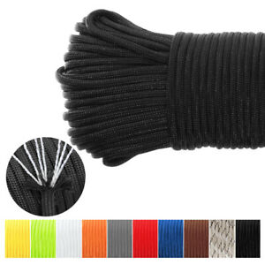 1000FT 550 Paracord Parachute Cord Rope Lanyard Mil Spec Type III 7 Strand Core