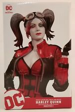 """DC Collectibles INJUSTICE 2 Harley Quinn Red White And Black 7.75"""" Statue ~NEW~"""