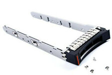IBM 45W8687 2.5-INCH SAS LONG HARD DRIVE TRAY FOR V3500 V3700 with screws