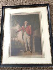 1916 Henry Callender Framed Mezzotint Picture, Artwork Signed By Will Henderson