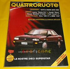 QUATTRORUOTE n 399 Gennaio 1989 Nissan Bluebird, Opel Vectra, Lancia Thema