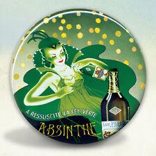 Absinthe Pernod Fairy Pocket Mirror tartx