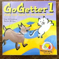 2000 GO GETTER 1 almost vintage FAMILY BOARD GAME Find the Path to Puzzling Fun!