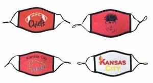 Kansas City Chiefs Face Mask, Mahomes Face Mask, KC Chiefs Face Mask, KC Chiefs