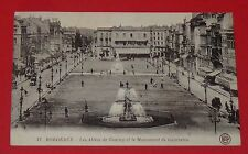 CPA CARTE POSTALE 1924 FRANCE GIRONDE 33 BORDEAUX AQUITAINE ALLEES TOURNY