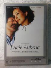 Lucie Aubrac - DVD - 1997 French War Movie - Carole Bouquet - REGION 4 - RARE